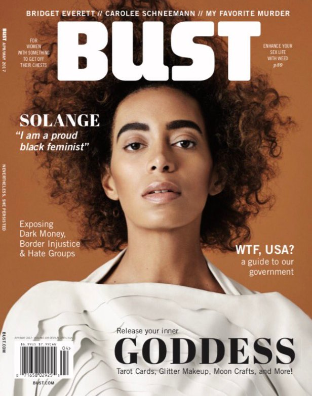 SOLANGE for Bust Magazine, Mar. 2017
