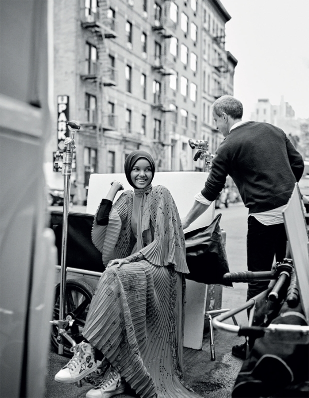 Halima Aden for Vogue Arabia - April 2017 1280