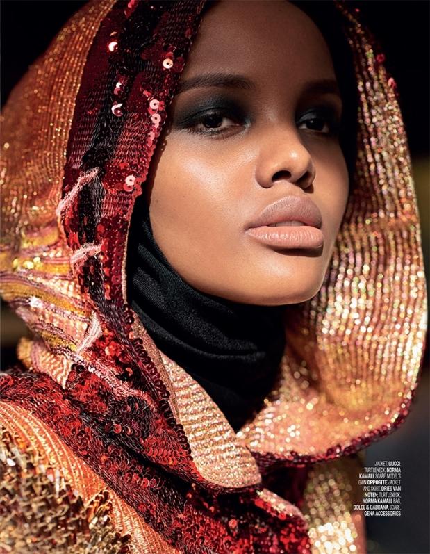 Halima Aden for Vogue Arabia - April 2017 p